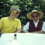 Professor Cong mit Walter Gutheinz 90er Jahre in Seebeck